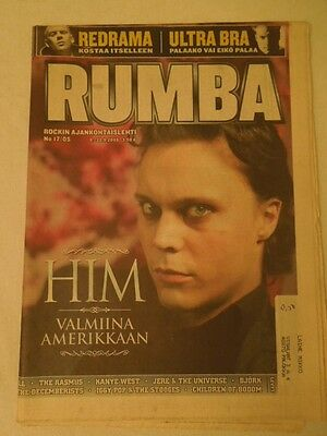 Finnish Rumba Magazine 17/2005 HIM Ville Valo on cover