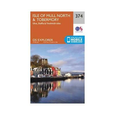 Isle of Mull North & Tobermory by Ordnance Survey