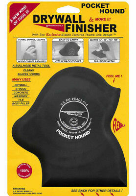 Pocket Hound Flexible Finisher/Smoother for Drywall Bullnose Trim  *NEW*
