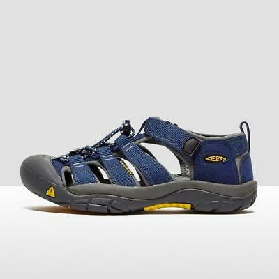 Keen Junior Newport H2 Sandals Outdoor Footwear Walking Sandals Navy