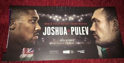 2x Anthony Joshua Vs Carlos Takam Tickets