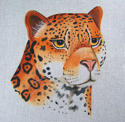 HP Needlepoint 13ct LEIGH leopard -LB332