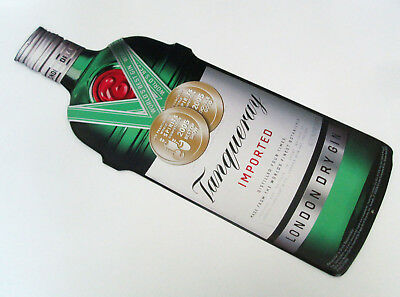 Tanqueray Imported London Dry Gin Tin Metal Sign 2006