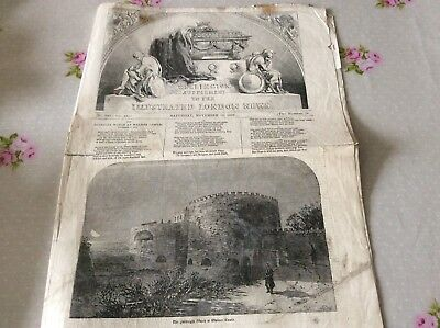 Supplement From London Illustrated News Death Of Wellington