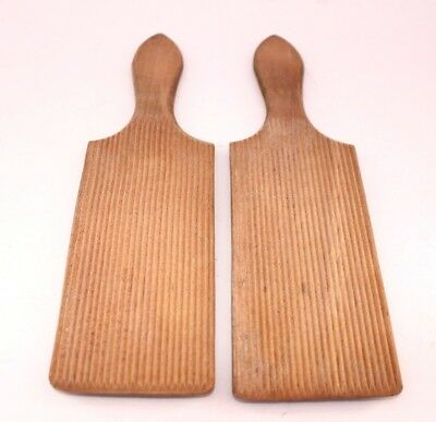 Butter pats Wooden Vintage kitchen Baking  Dairy 25cm approx B26 B