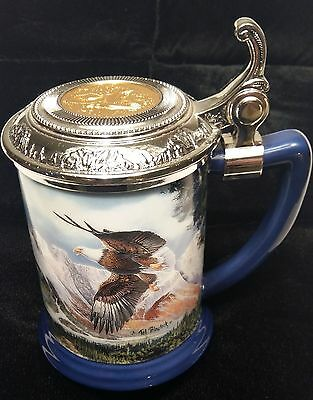 Eagle of the Last Frontier Collector Tankard from The Franklin Mint