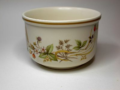 Retired Sugar Bowl in the Pleasing Pattern of Harvest by Marks and Spencer