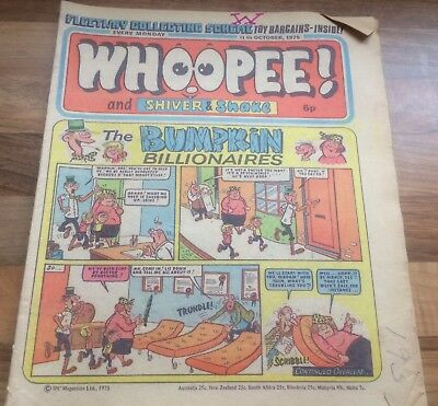 Whoopee Comic 11th October 1975 - Buy 2 Get 4 Free