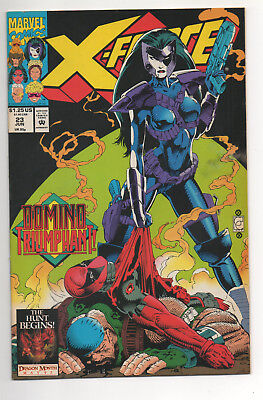 X-FORCE #23 (1993) DEADPOOL , DOMINO Cover NM-