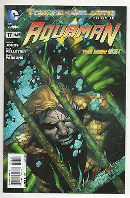 AQUAMAN #17 (2013) 1st MURK Appearance, Cast in Aquaman Movie