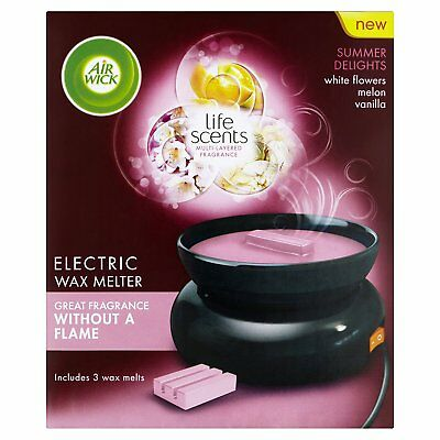 Air Wick Summer Delights Electric Wax Melter Burner 33 g Melts Fragrance 60 Hour