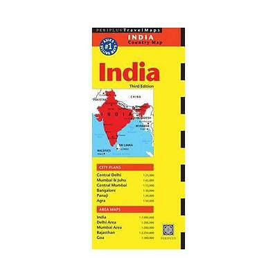 India Travel Map by Periplus