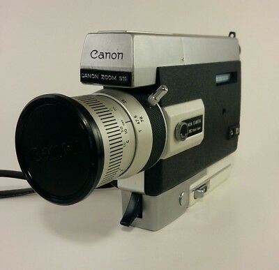 Canon Zoom 518 Super 8 with case