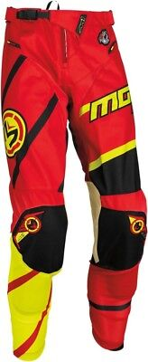 "Moose Racing S7 M1 Pants Red/Hi Vis 28 Offroad 27"" - 30"""