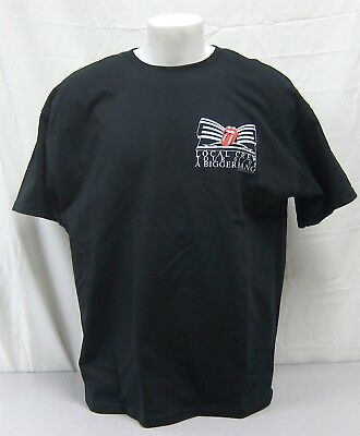 Rolling Stones Official Crew Shirt 2005 Bigger Bang Tour NEVER WORN WASHED XL
