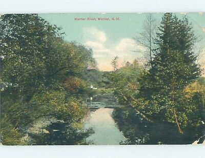 Divided-Back POSTCARD FROM Warner New Hampshire NH HM7144