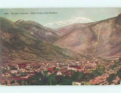 Divided-Back POSTCARD FROM Manitou Colorado CO HM7040