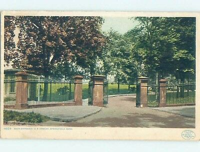 Divided-Back POSTCARD FROM Springfield Massachusetts MA HM7713
