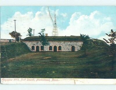 Divided-Back POSTCARD FROM Marblehead Massachusetts MA HM7507