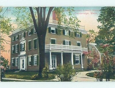 Divided-Back POSTCARD FROM Cambridge Massachusetts MA HM7907