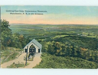 Divided-Back POSTCARD FROM Manchester New Hampshire NH HM7910