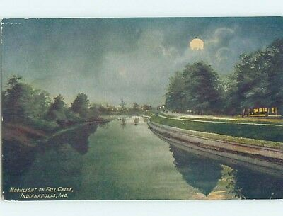 Unused Divided-Back POSTCARD FROM Indianapolis Indiana IN HM5851