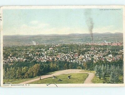 Divided-Back POSTCARD FROM Manchester New Hampshire NH HM8749