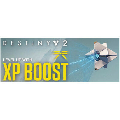 Destiny 2 XP Boost - Xbox PC PS4 - 4 Hour Code - Fast Delivery! Code In-Hand!