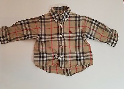Burberry Shirt For Infant 12m