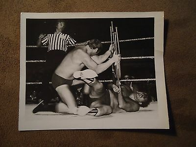 Dory Funk Jr. vs The Sheik Pro-Wrestling Picture 1970's