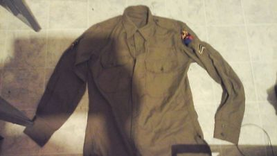 reproduction Korean War US 2nd armored division jacket