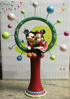 Brand-New - Disney Store - Mickey And Minnie - Share The Magic - Tree Topper!!