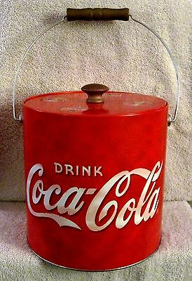 """Beautiful - Coca-Cola - """"drink Coca-Cola"""" - Red Ice Bucket - Great Gift Item!"""