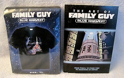 Brand-New - Rare - Family Guy - Blue Harvest - T-Shirt And Collectors Book!!