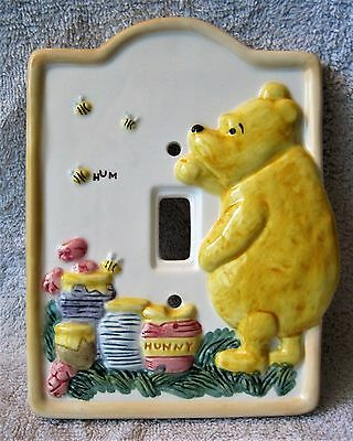 Brand-New - Classic Pooh - Winnie The Pooh Lightswitch Cover - Great Gift Item!