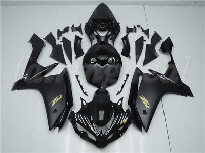 Black Injection Molding Plastic Kit Fairing Fit for Yamaha 2007 2008 YZF R1 m015
