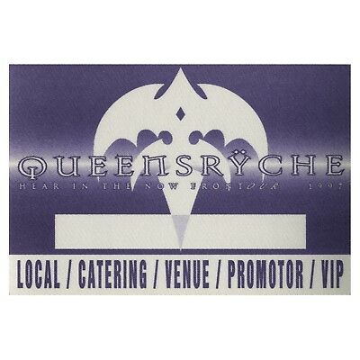 Queensryche authentic 1997 Hear in the new Frontier tour Backstage Pass VIP