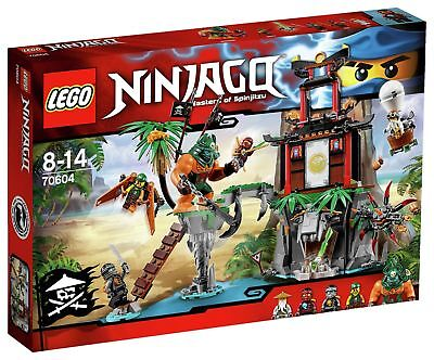LEGO Ninjago Tiger Widow Island Playset 70604 - Argos on eBay