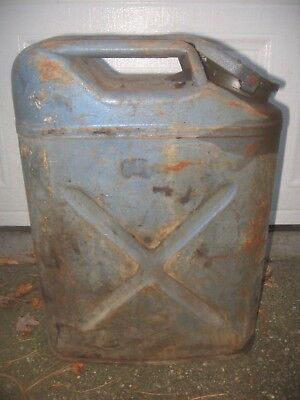 Vintage Jerry Can WWII 1944 U.S. Cavalier McCord JEEP 5 Gallon Metal Gas Water
