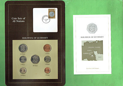 Carded  Coins Of The World - Guernsey