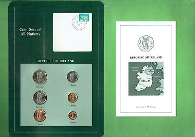 Carded  Coins Of The World - Ireland, Toning To One Penny