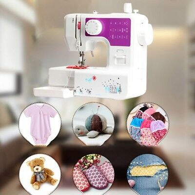 220V Stitches Multifunction Electric Overlock Sewing Machine Household Sewing EU
