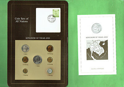 Carded  Coins Of The World - Thailand