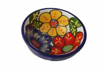 wholesale/job lot Spanish hand painted round tapas bowls - 12 in total