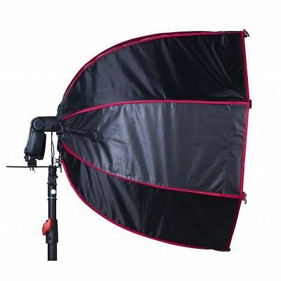 Lencarta 70cm RedLine Pro Folding Octa Softbox for Hotshoe Flashguns