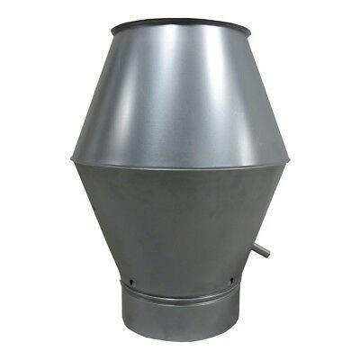 deflektorhaube by 100 mm up to 400 MM SPIRAL Ducts Roof Rain Cover