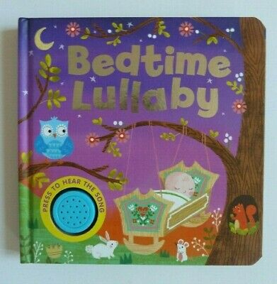 Bedtime Lullaby Sound Book Ages 0 Month+ Babies Musical Board Book Gift New!!!