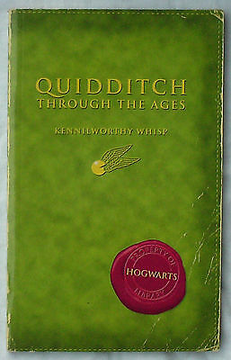 Quiditch book Issued with Comic Relief 1st Edition