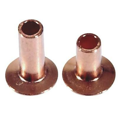 6 Pk Hillman 20 Piece Copper Steel Assorted Length Tubular Rivets 8007