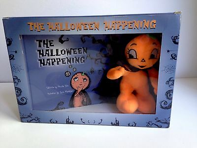 NEW! THE HALLOWEEN HAPPENING Holiday Tradition Story Kids Game Pumpkin on Shelf